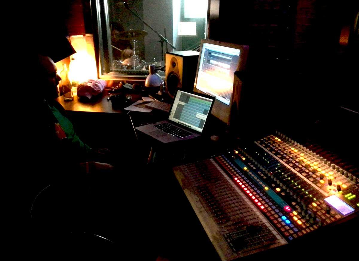 SOG en los estudios de grabación Pinchi Records
