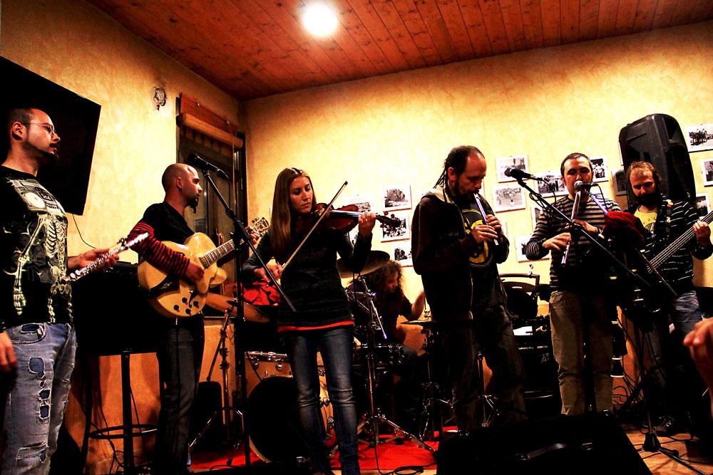 Concierto de Sog en Calzada del Coto, junio de 2013